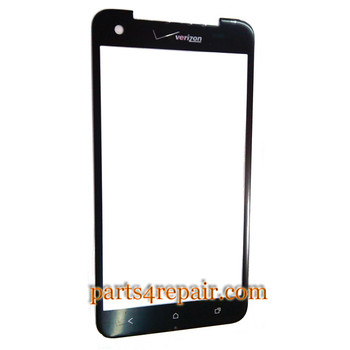 Front Glass OEM for HTC Droid DNA -Black from www.parts4repair.com