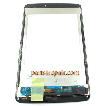 We can offer Complete Screen Assembly for LG G Pad 8.3 V500 -White