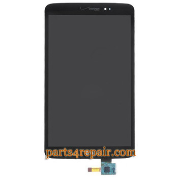 Complete Screen Assembly for LG G Pad 8.3 LTE -Black from www.parts4repair.com