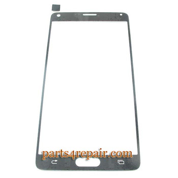 We can offer Front Glass for Samsung Galaxy Note 4 -White