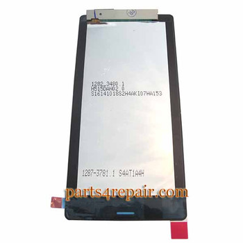 We can offer Complete Screen Assembly for Sony Xperia Z3 -Black