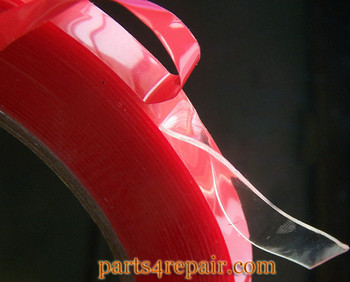 25M PET Heat Resistant Double-sided Transparent Multi-role Clear Adhesive Tape