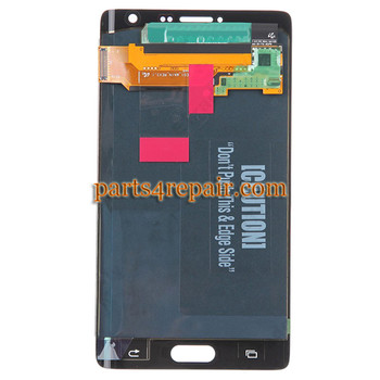 We can offer Complete Screen Assembly for Samsung Galaxy Note Edge SM-N915 -White