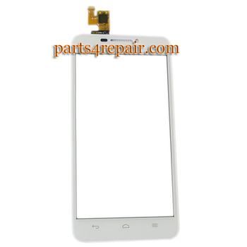 Touch Screen Digitizer for Huawei Ascend G630 -White from www.parts4repair.com
