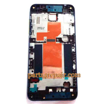 We can offer Front Housing Cover with Side Keys for HTC Desire 610 -Blue