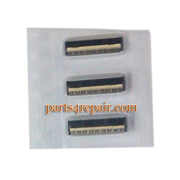 We can offer 33pin LCD Screen FPC Connector for HTC One SV