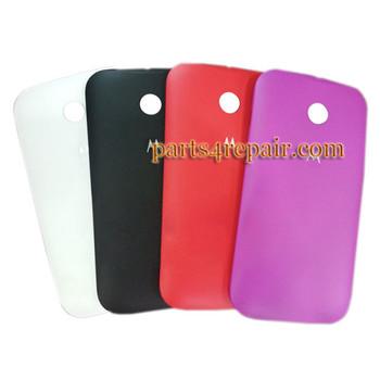 Back Cover for Motorola Moto E XT1021 -White from www.parts4repair.com