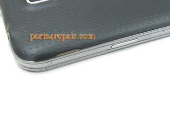 Full Housing Cover for Samsung Galaxy S5 G900F -Black