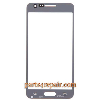 We can offer Front Glass for Samsung Galaxy A5 SM-A500 -White