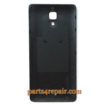 Back Cover for Xiaomi MI 4 -Black