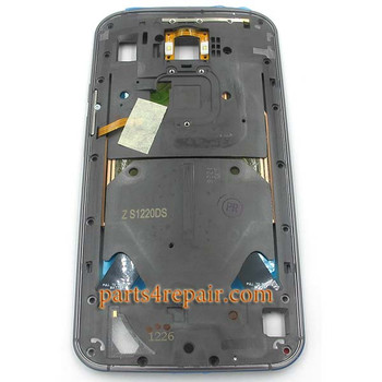 Middle Plate for Motorola Moto X 2014 (2nd Gen) -Black from www.parts4repair.com