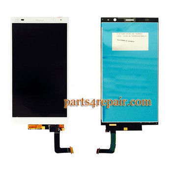 you can find complete screen assembly for ZTE grand memo 2 M901C -white in www.parts4repair.com