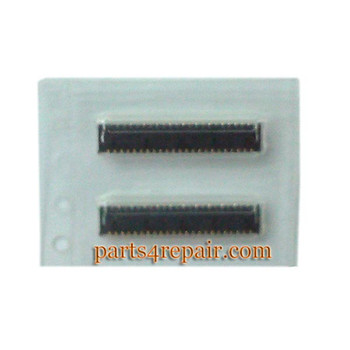45pin Touch Screen FPC Connector for HTC One M8 from www.parts4repair.com