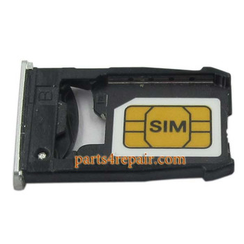 SIM Tray for Motorola Nexus 6 -Silver