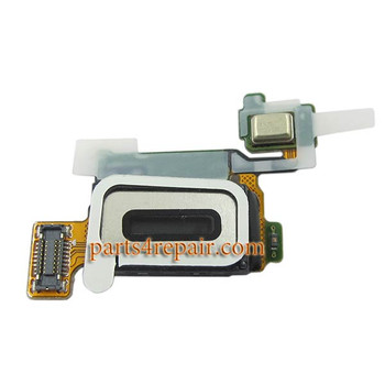 Earpiece Speaker Flex Cable for Samsung Galaxy S6 from www,parts4repair.com