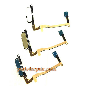 Fingerprint Sensor Flex Cable for Samsung Galaxy Alpha (S801) G850 -Gold