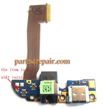 Generic Dock Charging Flex Cable for HTC One M8 AT&T