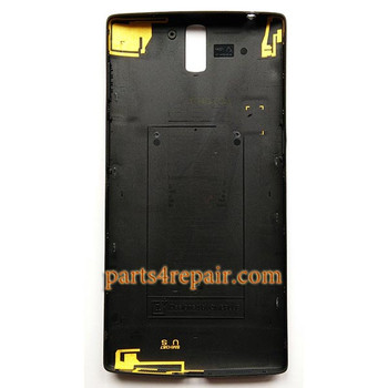 We can offer Back Cover for OnePlus One -Black
