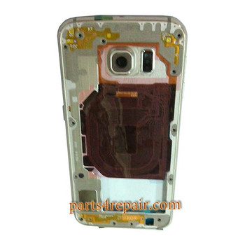 Middle Housing Cover for Samsung Galaxy S6 G920F from www.parts4repair.com