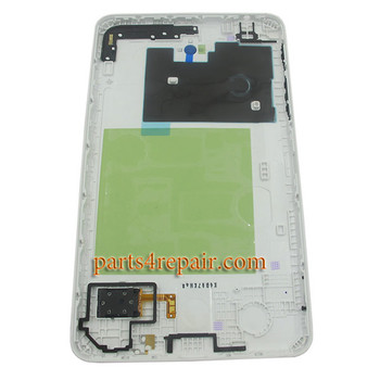 Back Cover for Samsung Galaxy Tab 4 7.0 T230 WIFI -White