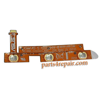 Volume Flex Cable for Asus Memo Pad 8 ME180A from www.parts4repair.com