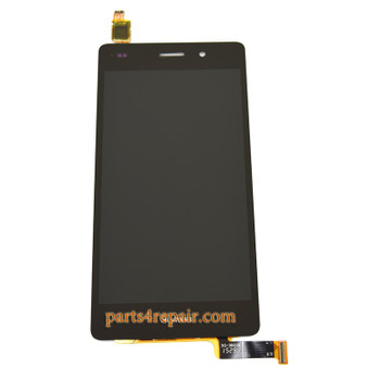Complete Screen Assembly for Huawei P8lite -Black