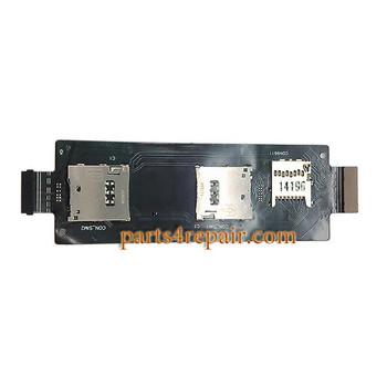 SIM Connector Board OEM for Asus Zenfone 2 ZE551ML