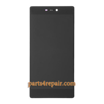 Huawei P8 LCD Screen Assembly with Frame Black | Parts4Repair.com
