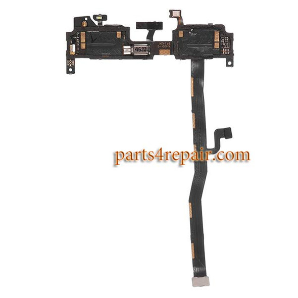 Microphone Flex Cable with Vibrator for Oneplus One from www.parts4repair.com