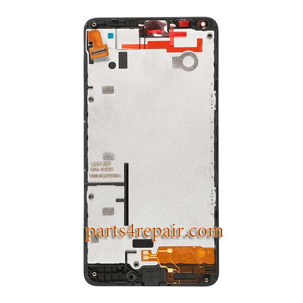 Complete Screen Assembly with Bezel for Microsoft Lumia 640
