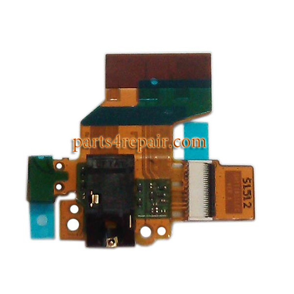 Earphone Connector Flex Cable for Huawei MediaPad T1 10 T1-A21 from www.parts4repair.com