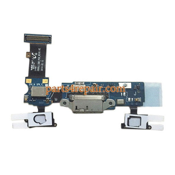 Dock Charging PCB Board for Samsung Galaxy S5 G900J from www.parts4repair.com