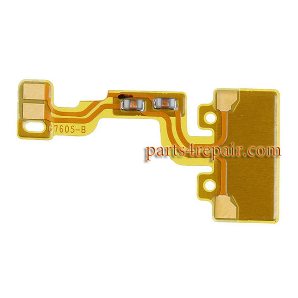Loud Speaker Coaxial Flex Cable for Huawei Ascend G7 from www.parts4repair.com
