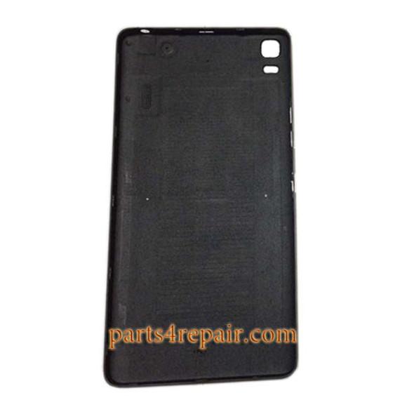 Back Cover with Side Keys for Lenovo K3 Note (K50-T5) -Black