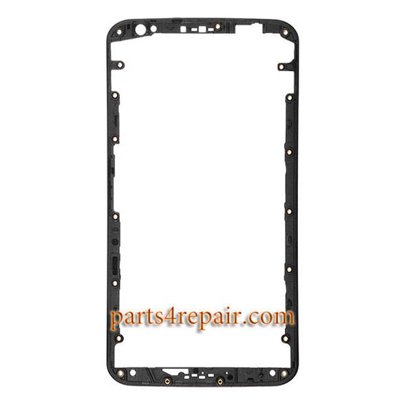 Front Bezel for Motorola Nexus 6 from www.parts4repair.com
