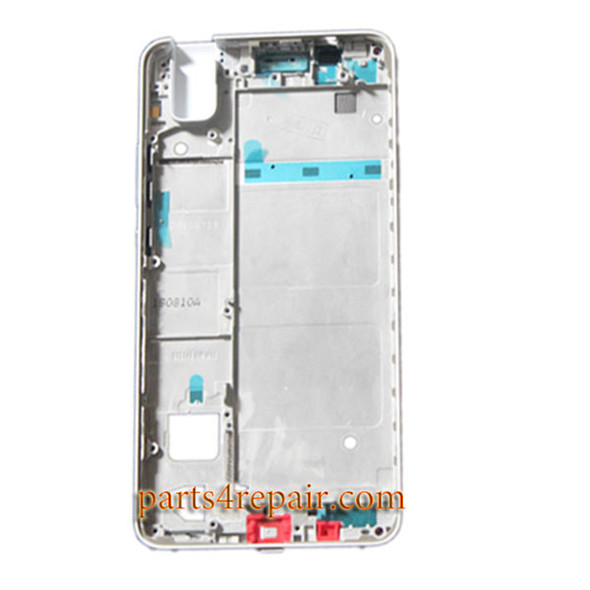 Middle Housing Cover with Side Keys for Huawei Honor 7i -White