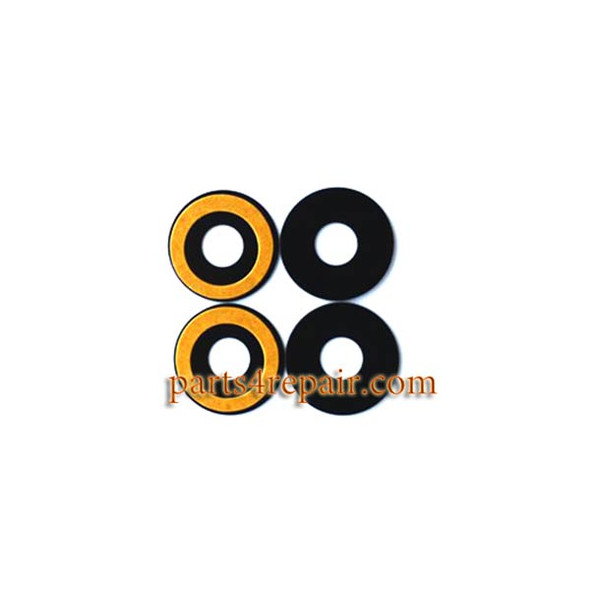 2pcs Camera Glass Lens with Adhesive for Meizu MX5