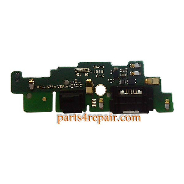 Dock Charging PCB Board for Huawei Ascend Mate 7 MT7-T10 -Used