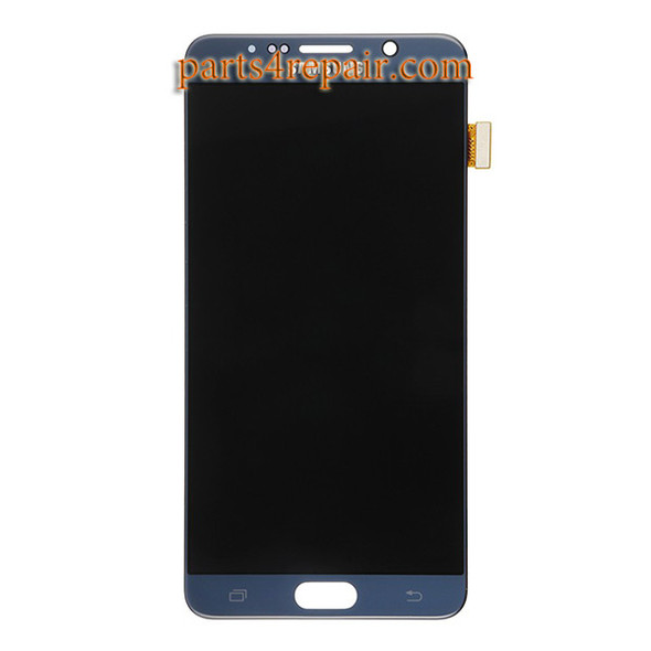 Complete Screen Assembly for Samsung Galaxy Note 5 All Versions -Black Sapphire