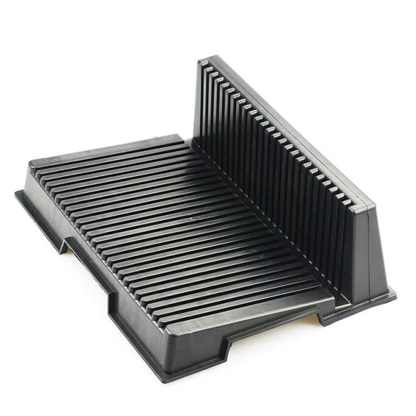 L Type Anti-static PCB Rack Conductive ESD LCD-holder Tray