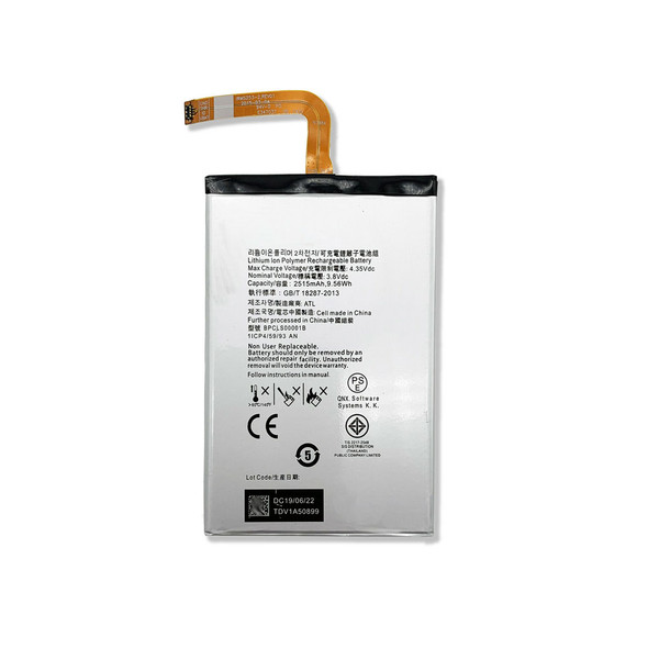 Built-in Battery 2515mAh for BlackBerry Classic Q20 | Parts4Repair.com