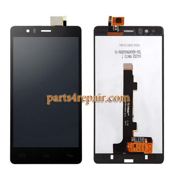 Complete Screen Assembly for BQ Aquaris E5 HD from www.parts4repair.com