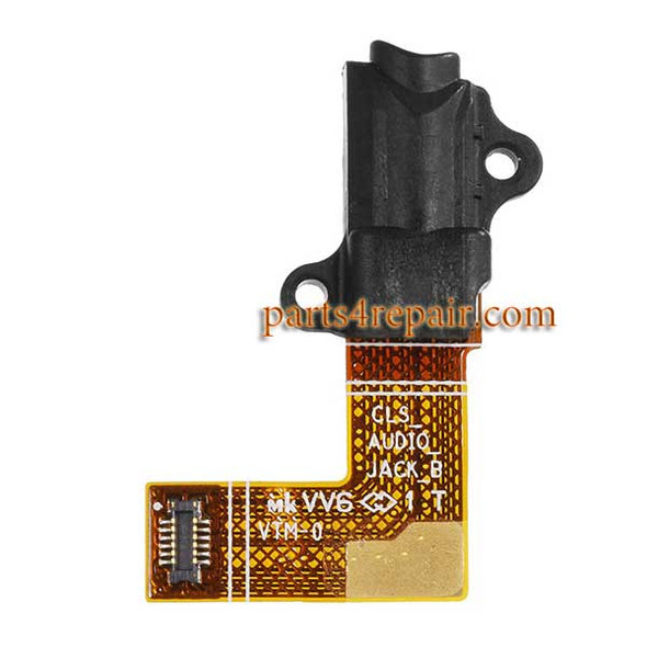 Earphone Jack Flex Cable for BlackBerry Classic Q20 from www.parts4repair.com