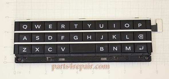 Keypad with Flex Cable for BlackBerry Passport (BlackBerry Q30) -Black