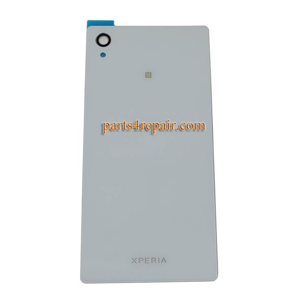 Generic Back Cover for Sony Xperia M4 Aqua -White