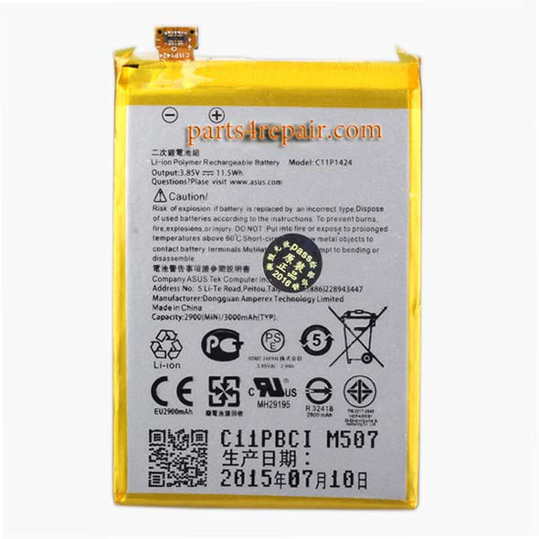Asus Zenfone 2 ZE551ML Built-in Battery C11P1424