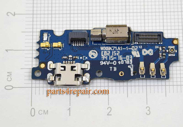 """Dock Charging PCB Board for Meizu M2 5.0"""" from www.parts4repair.com"""