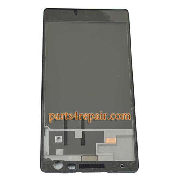 Full Housing Cover OEM for Nokia Lumia 730 -Black