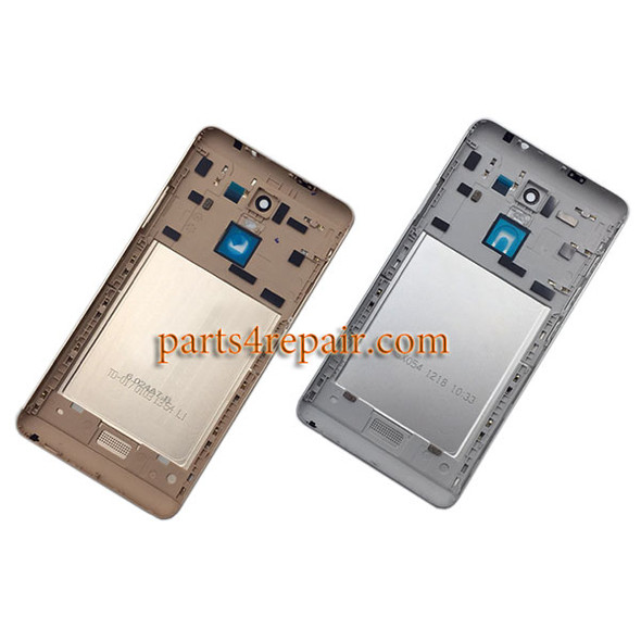 Back Cover with Side Keys for Xiaomi Redmi Note 3 (Mediatek version) -Gold