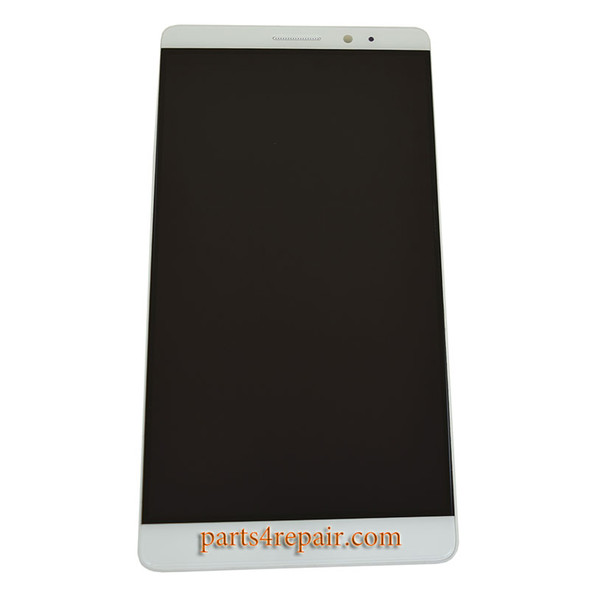 Complete Screen Assembly with Bezel for Huawei Mate 8 from www.parts4repair.com